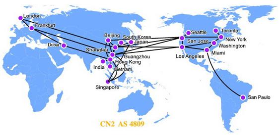 CN2 线路介绍及 CN2 VPS服务商