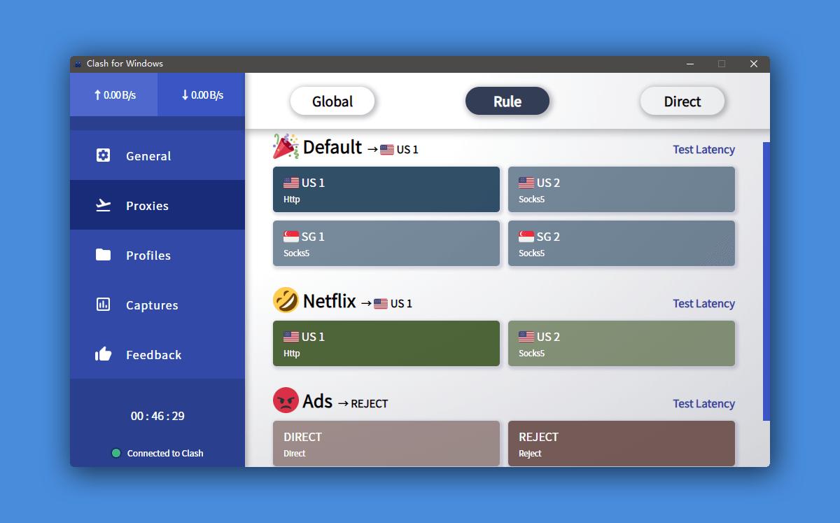 Clash for Windows 使用简介